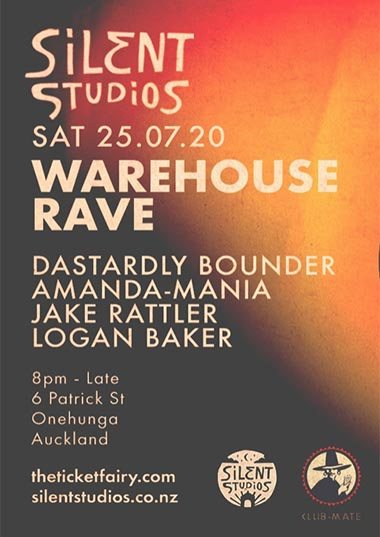 Silent Studios - Warehouse Rave 25.07.20