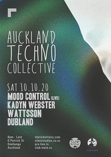 Silent Studios - Auckland Techno Collective 10.10.20
