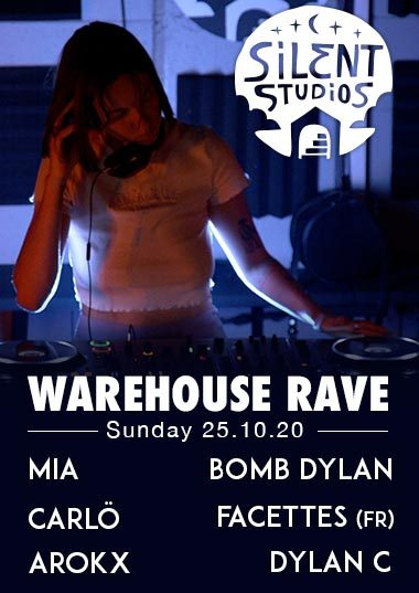 Silent Studios - Warehouse Rave 25.10.20