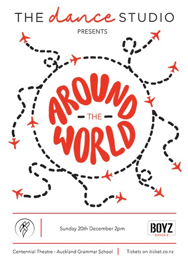 The Dance Studio - Around The World