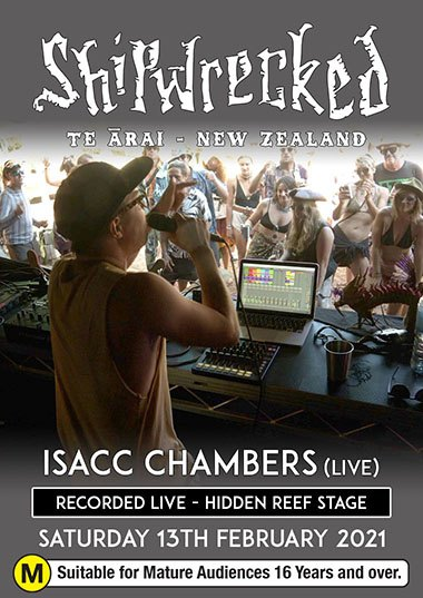 Isaac Chambers (LIVE) - Shipwrecked 2021
