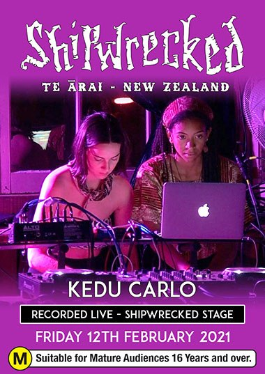 Kedu Carlo (LIVE) - Shipwrecked 2021