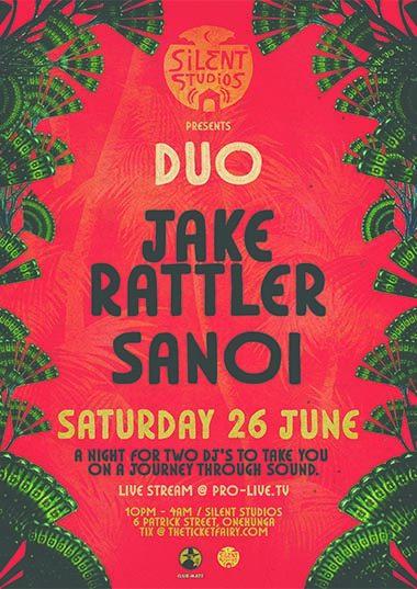 Silent Studios - DUO: Jake Rattler & Sanoi